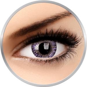 TruBlends Violet - lentile de contact colorate violet lunare 30 purtari (2 lentile/cutie) imagine