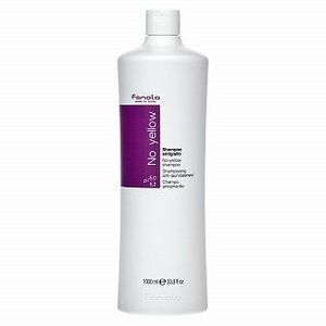 Fanola No Yellow Shampoo șampon pentru păr blond platinat si grizonat 1000 ml imagine