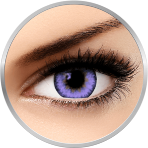 Queen's Trilogy Violet - lentile de contact colorate violet lunare - 30 purtari (2 lentile/cutie) imagine