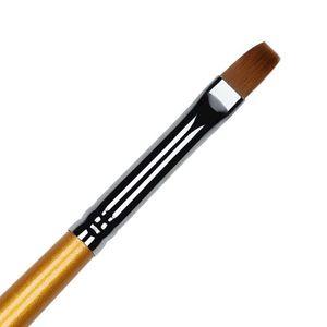 Pensula Unghii Aplicare Gel UV Kolinsky Gel Brush - LUXORISE imagine