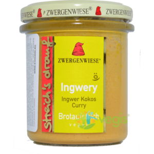 Crema Tartinabila Ingwery cu Ghimbir, Cocos si Curry Ecologica/Bio 160g imagine