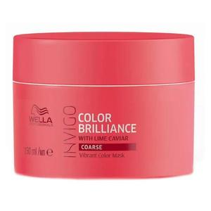 Masca pentru Par Vopsit, Aspru - Wella Professionals Invigo Color Brilliance Vibrant Color Mask Coarse Hair, 150ml imagine