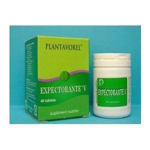 Expectorante, 40 tablete imagine