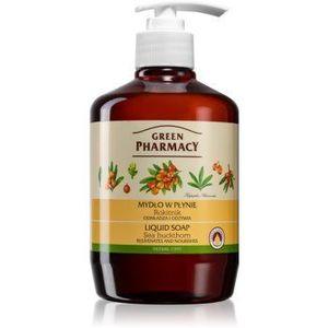 Green Pharmacy Hand Care Sea Buckthorn săpun lichid imagine