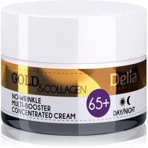 Delia Cosmetics Gold & Collagen 65+ crema anti-rid efect regenerator imagine