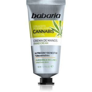 Babaria Cannabis crema de maini hidratanta imagine