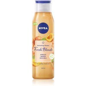 Nivea Fresh Blends Apricot & Mango & Rice Milk gel de dus revigorant imagine