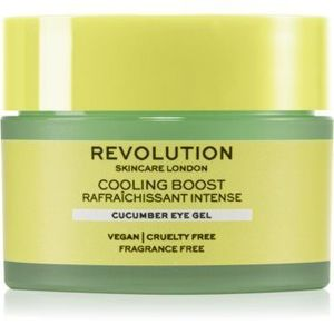 Revolution Skincare Boost Cooling Cucumber crema de ochi hidratanta imagine