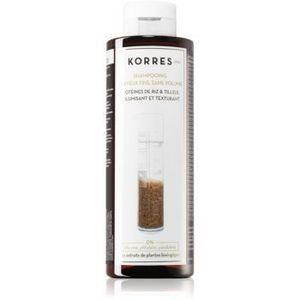 Korres Rice Proteins & Linden șampon pentru par fin imagine