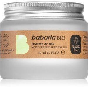 Babaria BIO crema de zi hidratanta imagine