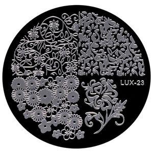 Matrita Metalica Stampila Unghii LUX-23 - Nature imagine