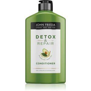 John Frieda Detox & Repair balsam detoxifiant pentru curățare pentru par deteriorat imagine