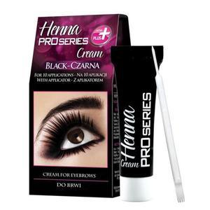 Vopsea Profesionala Crema pentru Sprancene HENNA Proseries - Negru imagine