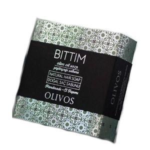 Sampon Solid pentru Par Bittim - Anti-Cadere, Anti-Matreata, Volum si Stralucire Olivos, 125 g imagine