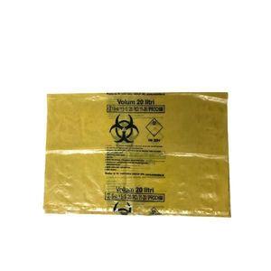 Sac Galben Biohazard 20L Prima, 1 buc imagine