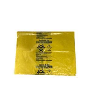 Sac Galben Biohazard 40L Prima, 1 buc imagine