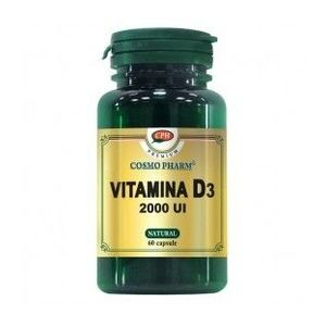 Premium Vitamina D3, 60 capsule imagine