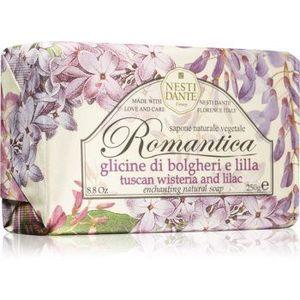 Nesti Dante Romantica Tuscan Wisteria & Lilac săpun natural imagine