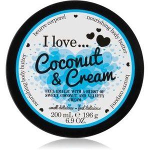 I love... Coconut & Cream unt pentru corp imagine