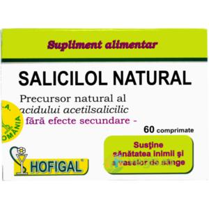 Salicilol Natural(Aspirina Naturala) 60tb imagine