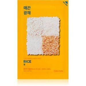 Holika Holika Pure Essence Rice Mască de iluminare și revitalizare imagine