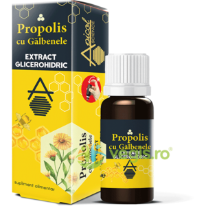 Propolis cu Galbenele Extract Glicerohidric 30ml imagine