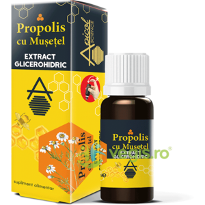 Propolis cu Musetel Extract Glicerohidric 30ml imagine