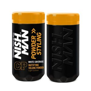 NISH MAN - Pudra de volum 20 gr - Neagra imagine