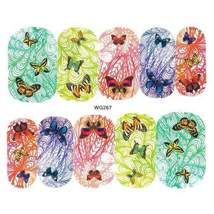 Tatuaj unghii LUXORISE, Butterfly WG267 imagine