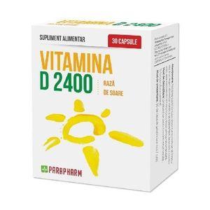 Calciu + Vitamina D3 30 capsule imagine