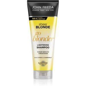 John Frieda Sheer Blonde Go Blonder șampon decolorant pentru par blond imagine