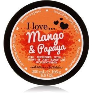 I love... Mango & Papaya unt pentru corp imagine