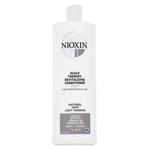 Nioxin System 1 Scalp Therapy Revitalizing Conditioner balsam pentru întărire pentru păr fin 1000 ml imagine
