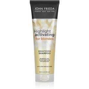 John Frieda Sheer Blonde Highlight Activating sampon hidratant pentru par blond imagine