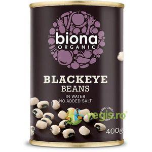 Fasole Alba Blackeye Ecologica/Bio 400g imagine