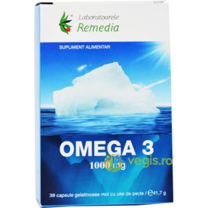 Omega 3 Ulei de Peste 1000mg 30cps imagine