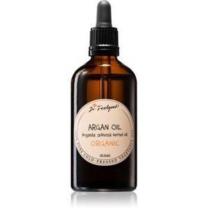 Dr. Feelgood BIO and RAW ulei de argan cosmetic pe fata , corp si par imagine