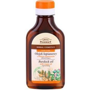 Green Pharmacy Hair Care Argan Oil Ulei de par in brusture ulei pentru par cu brusture efect regenerator imagine