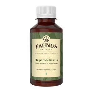 FAUNUS Tinctura Hepatobiliarus 200 ml (Ficat sanatos) imagine