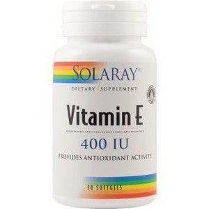 Vitamin E 400 UI, 50 capsule imagine