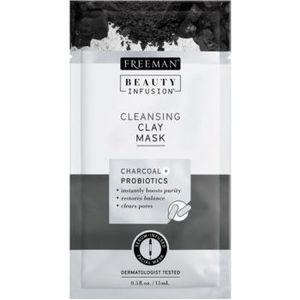 Freeman Beauty Infusion Charcoal + Probiotics masca facială pentru curatarea tenului imagine