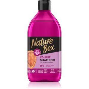Nature Box Almond sampon pentru volum densitatea parului imagine