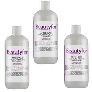 Pachet 3 x Ulei dupa Epilare - Beautyfor - After- Wax Eucalyptus Oil, 500 ml imagine