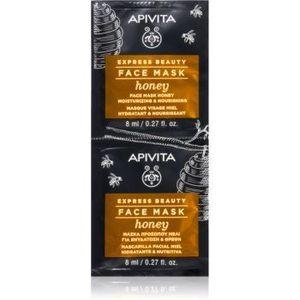 Apivita Express Beauty Honey masca hranitoare facial imagine