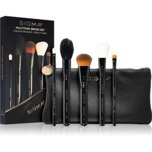 Sigma Beauty Untamed Multitask Brush Set set de pensule cu geantă imagine
