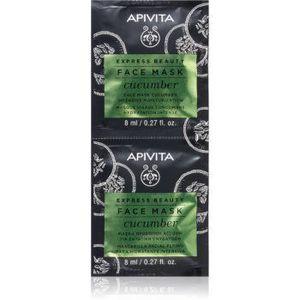 Apivita Express Beauty Cucumber mască facială intens hidratantă imagine