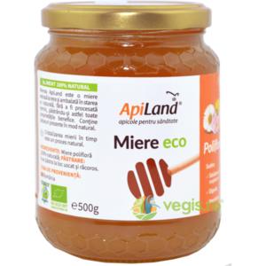 Miere Cruda Poliflora Ecologica/Bio 500g imagine