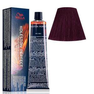 Vopsea Crema Permanenta - Wella Professionals Koleston Perfect ME+ Vibrant Reds, nuanta 44/65 Castaniu Mediu Intens Violet Mahon imagine