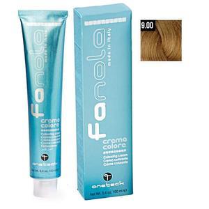 Vopsea Crema Permanenta Fanola 9.00 Blond Foarte Deschis Intens, 100ml imagine