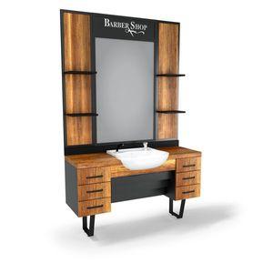 SOMPREMIUM Barber shop furnishing - Model BT110 imagine